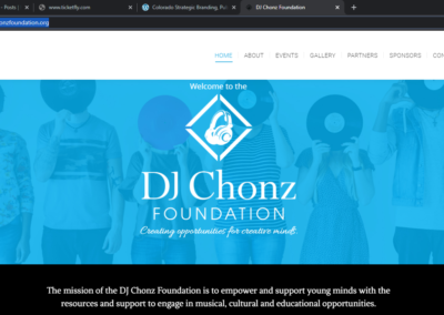 dj chonz foundation
